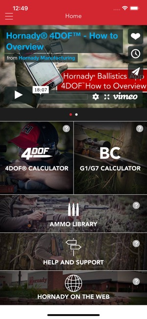 Hornady Ballistics on the App Store