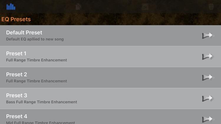 Full HD Parametric Equalizer screenshot-7