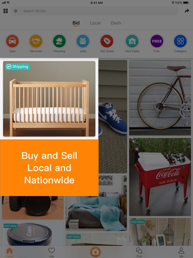 5miles: Buy and Sell Locally on the App Store