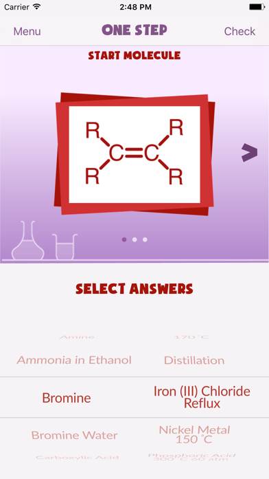 R2R: Organic Synthesis screenshot two