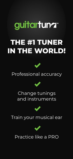 GuitarTuna: Guitar, Bass tuner on the App Store