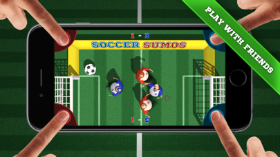 Soccer Sumos - party game! screenshot one
