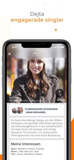 Begegnungen mit Dating-Dating-Handy-App