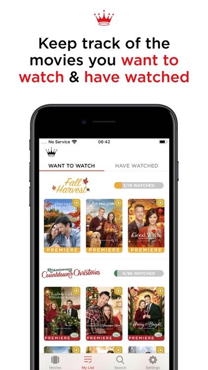 Hallmark Movie Checklist screenshot-4