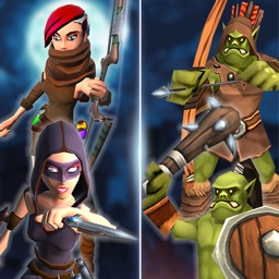 Girl Ninja Hero:ORCs & Goblins