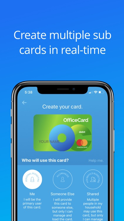OfficeCard Mobile Banking