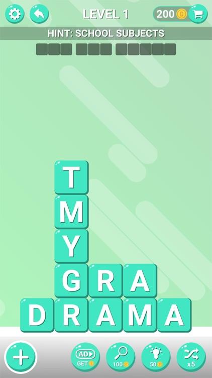 Word Blocks Puzzle