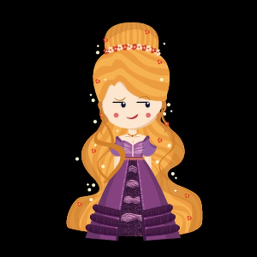 Princess Pretty Sticker