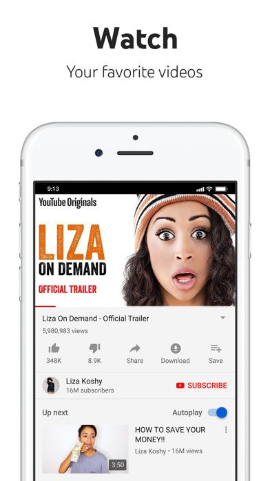 download YouTube: Watch, Listen, Stream apps 1