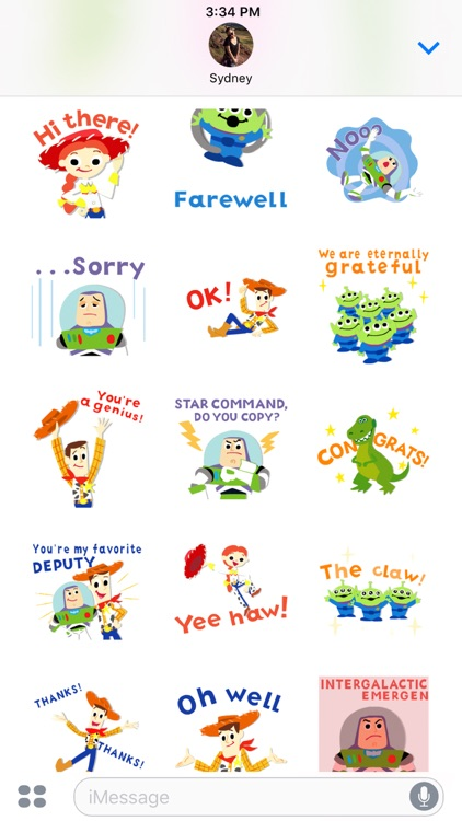 Pixar Stickers: Toy Story screenshot-4