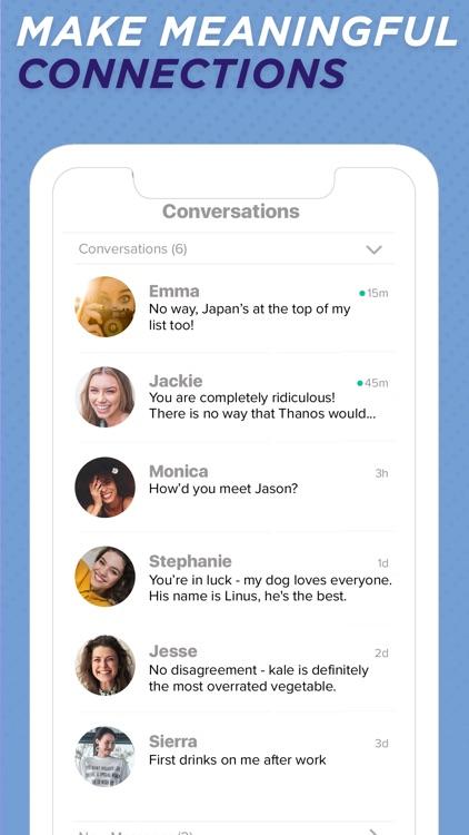 Sweet Pea—Conversations, Dates screenshot-4