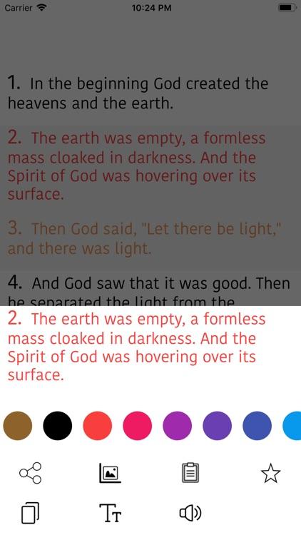 French Bible - La Bible LSV screenshot-8