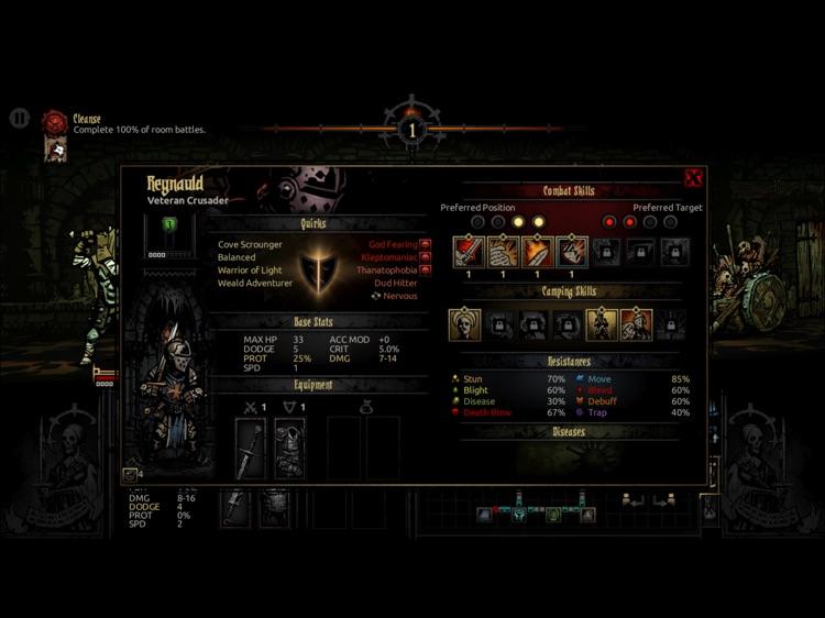 Darkest Dungeon:Tablet Edition screenshot-3