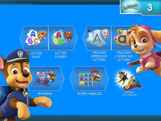Paw Patrol: Alphabet Learning screenshot 7
