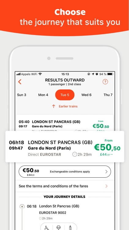 OUI.sncf: Train & Bus tickets
