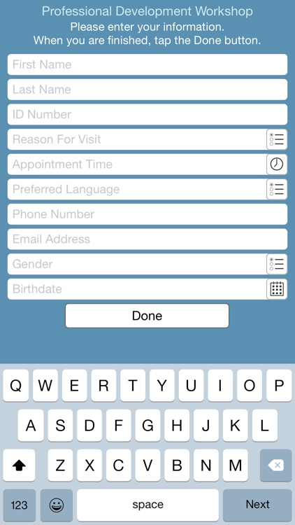 Simple Form for iPhone