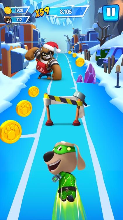 Talking Tom Hero Dash Run Game screenshot-3