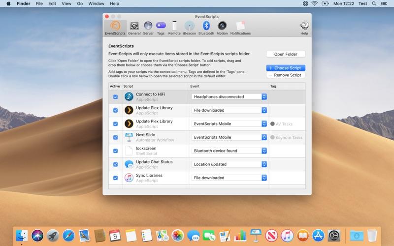 EventScripts Screenshots