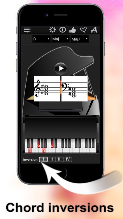 Piano Chords Compass LR