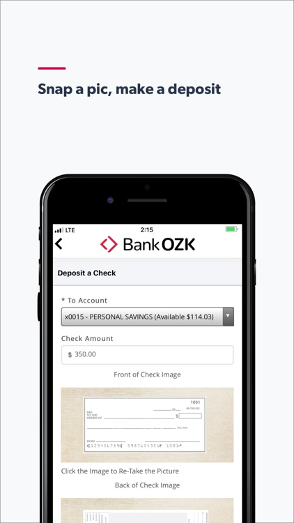 Bank OZK Mobile screenshot-2