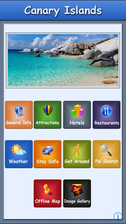 Canary Island Offline map