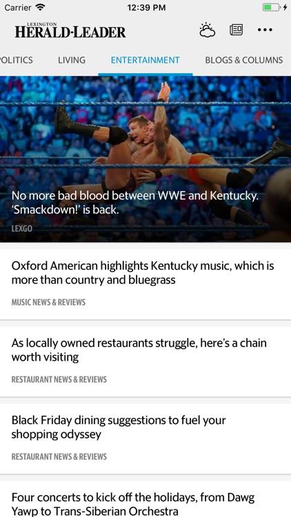 Lexington Herald-Leader News screenshot-4