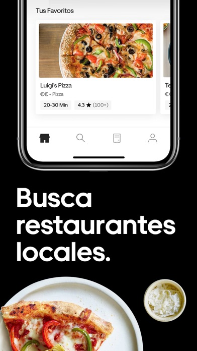Screenshot for Uber Eats: Comida a domicilio in Spain App Store