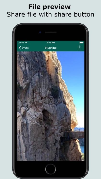 FileCalendar Lite screenshot-4