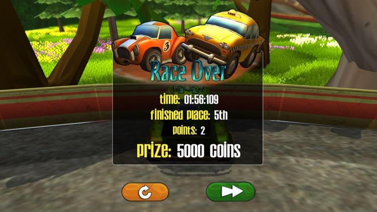 Cartoon Super Racer screenshot-5