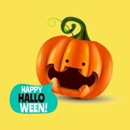 Creepy Halloween Stickers