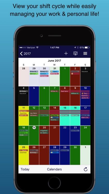 Spark - Shift Calendar screenshot-0