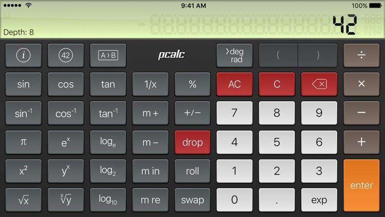 PCalc Lite screenshot-3