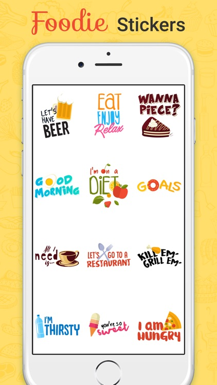 Foodie Stickers Fun