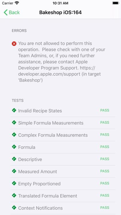 "Pocket Bot for ""Xcode Server"" screenshot-3"