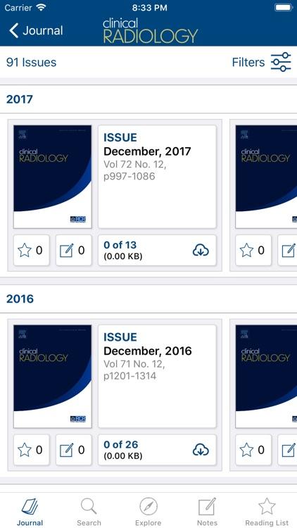 RCR Journals screenshot-3