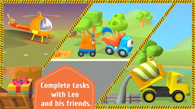 Leo the Truck and Cars Game screenshot-5