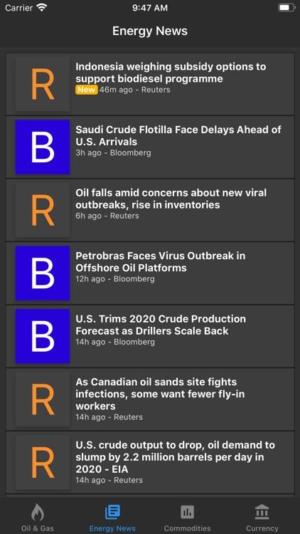 Oil Price Live screenshot-3