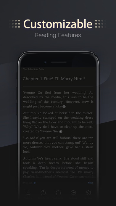 MoboReader - Books & Webnovels Screenshot