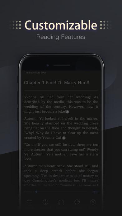 Screenshot for MoboReader - Books & Webnovels in United States App Store