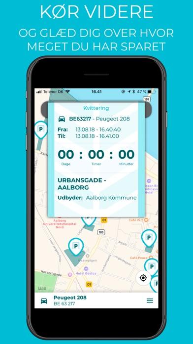 Screenshot for PARKPARK in Denmark App Store