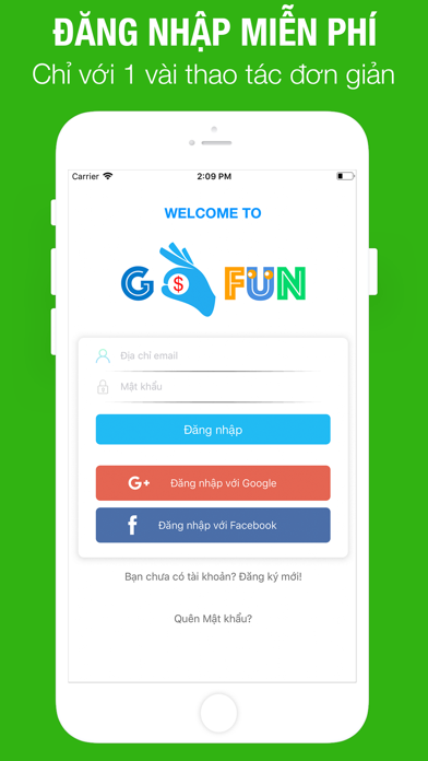 GoFun - Việc làm theo giờ Screenshot on iOS