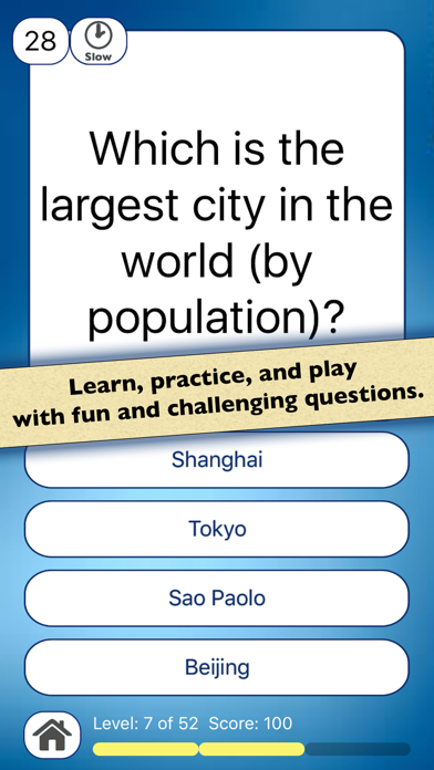 Geo Facts—US & World Geography screenshot one