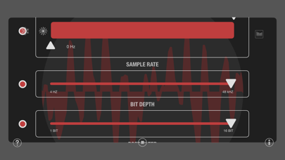 JAX Decimator (Audio Unit) screenshot 5