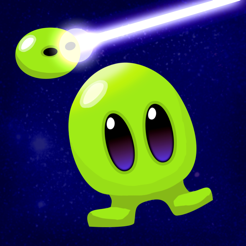 ‎Tiny Alien -  Jump and Shoot!