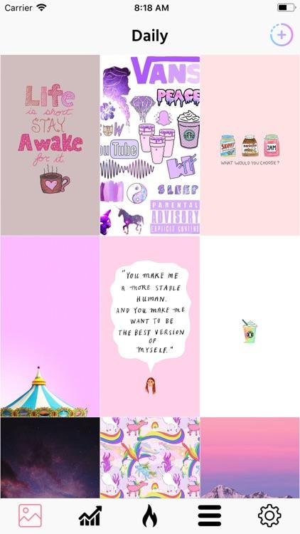 HD Cute Wallpapers for Girls screenshot-3