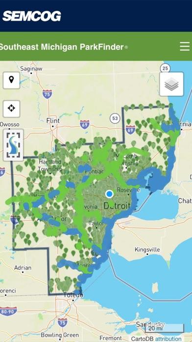 点击获取Southeast Michigan ParkFinder