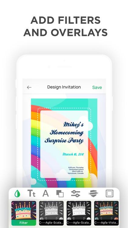 Invitation Maker- Make Invites screenshot-6