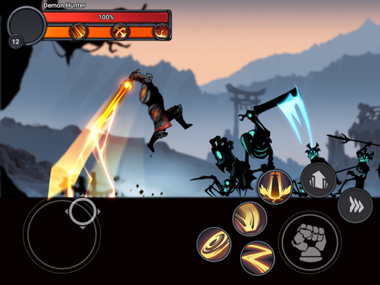Stickman Master: Shadow Ninjaのおすすめ画像2