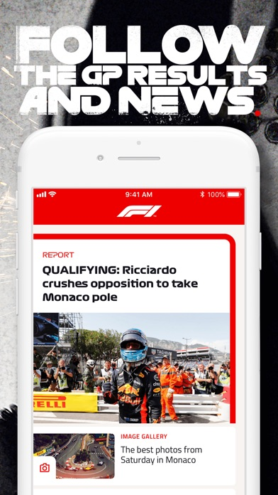 Screenshot for Formula 1® in Chile App Store