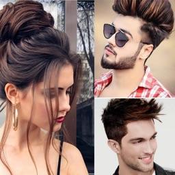 Girl and Boys Hair Style
